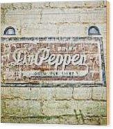 Dr Pepper-good For Life Wood Print