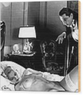 Dracula Bela Lugosi Fantasy Nude Wood Print