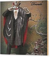 Dracula Model Kit Wood Print