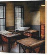 Draftsman - The Drafting Room Wood Print