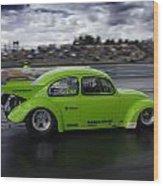 Drag Racing 10 Wood Print