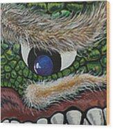Dragon Cyclops Wood Print