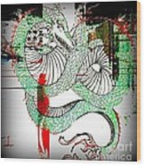 Dragon Inverted Wood Print