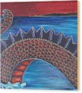 Dragon One Wood Print