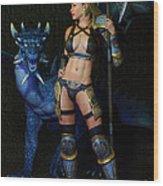 Dragon Prophecy Wood Print