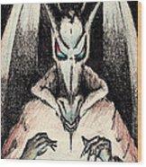 Dragon Sorceror Wood Print