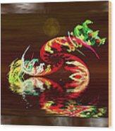Dragon Spawn Wood Print