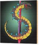 Dragon Spike One Wood Print