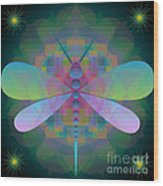 Dragonfly 2013 Wood Print
