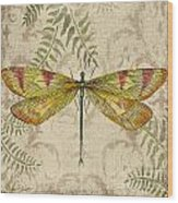 Dragonfly Daydreams-a Wood Print