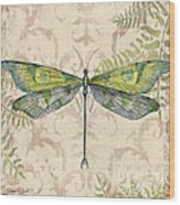 Dragonfly Daydreams-c Wood Print