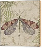 Dragonfly Daydreams-d Wood Print