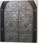 Dragons Door Wood Print
