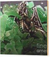 Dragon's Hoard  Wood Print