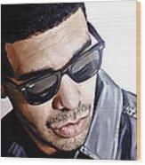 Drake Artwork 1 Wood Print