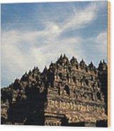 Dramatic Ancient Borobudur  Wood Print