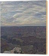 Dramatic Grand Canyon Sunset Wood Print