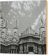 The Jain Temples Wood Print