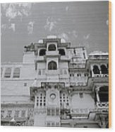 Dramatic Udaipur Wood Print
