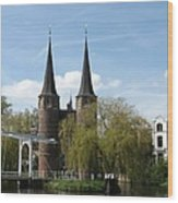 Drawbridge - Delft - Netherlands Wood Print