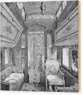 Drawing-room Car, 1869 Wood Print