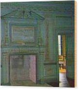 Drayton Hall 2 Wood Print by Ron Kandt