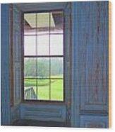 Drayton Hall 8 Wood Print by Ron Kandt