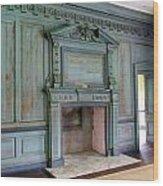 Drayton Hall Interior 1 Wood Print