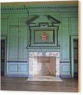 Drayton Hall Interior 3 Wood Print