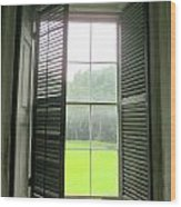Drayton Interior Window 1 Wood Print