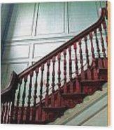 Drayton Staircase 1 Wood Print