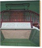 Drayton Staircase 3 Wood Print