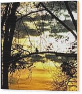 Dream At Dusk Wood Print