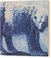 Dream Bear Wood Print