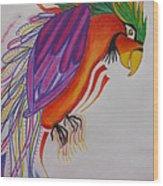 Dream Bird Wood Print