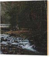 Dream Bridge Wood Print