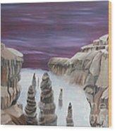 Dream Canyon Wood Print