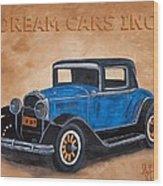 Dream Cars Inc. Wood Print
