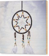 Dream Catcher Wood Print