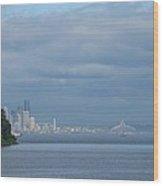 Dream City Wood Print