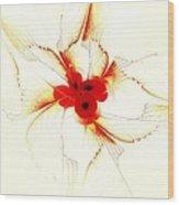 Dream Flower Wood Print
