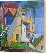 Dream Home Wood Print