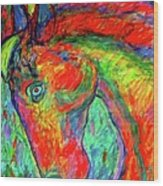 Dream Horse Wood Print