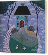 Dream House Wood Print