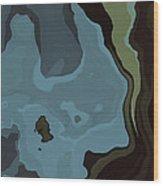 Dream World #3 Wood Print