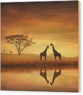 Dreaming Of Africa Wood Print