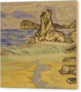 Dreaming Of Beaches Wood Print