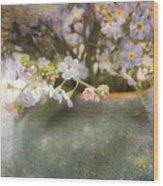 Dreaming Of Forget-me-nots Wood Print