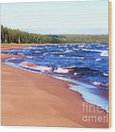 Dreaming Of Lake Superior Wood Print