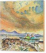 Dreaming Of Sailing In Lanzarote Wood Print